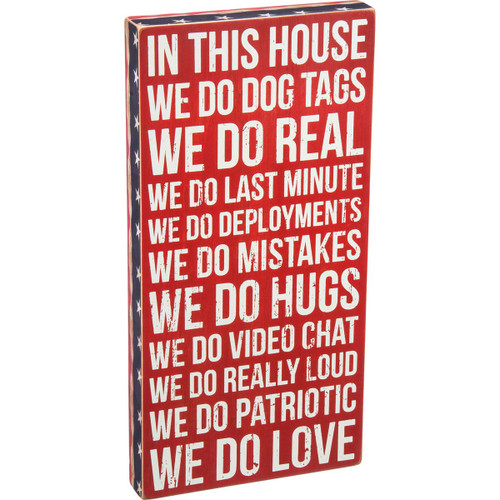 Box Sign-We Do Dog Tags