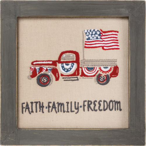 Sign - Faith Family Freedom