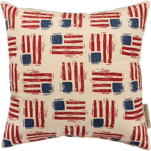 Pillow - Flag Toss