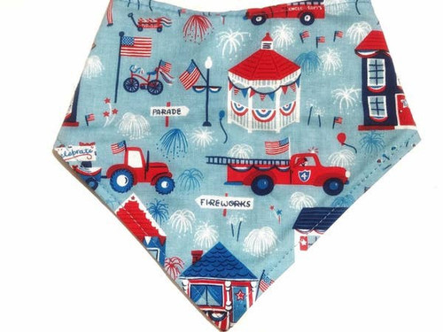 Independence Day Snap On Dog Bandana