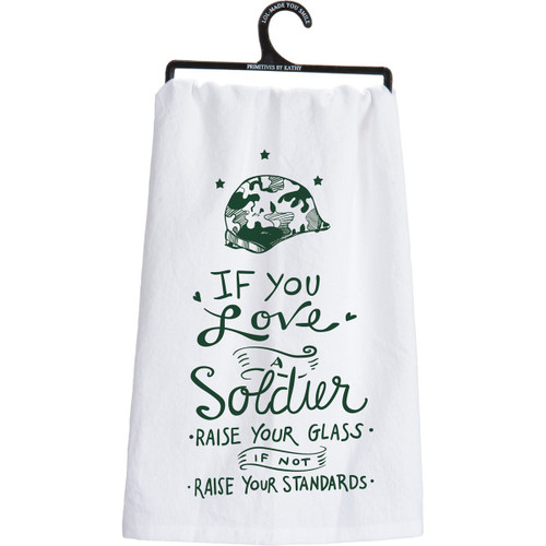 Dish Towel-A Soldier