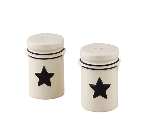Country Star Salt and Pepper