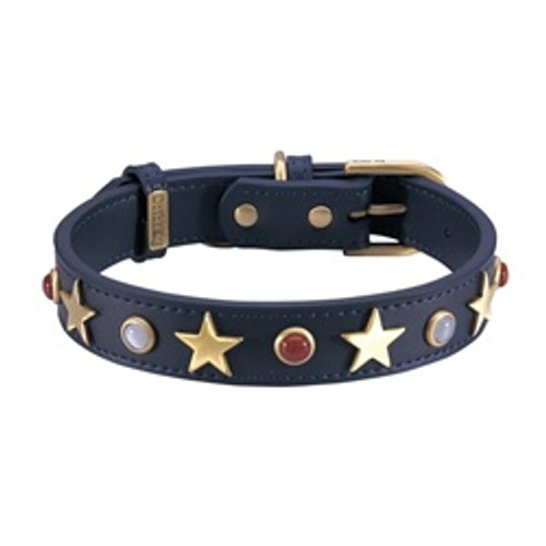 American Dog Collar Leather