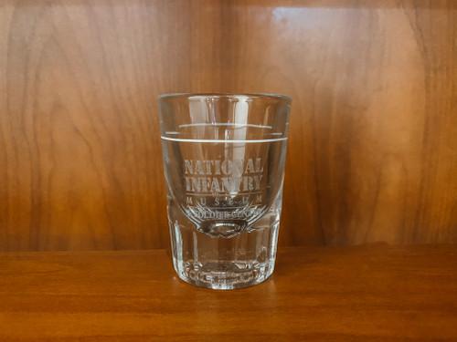 National Infantry Museum 2 Oz Shot Glass