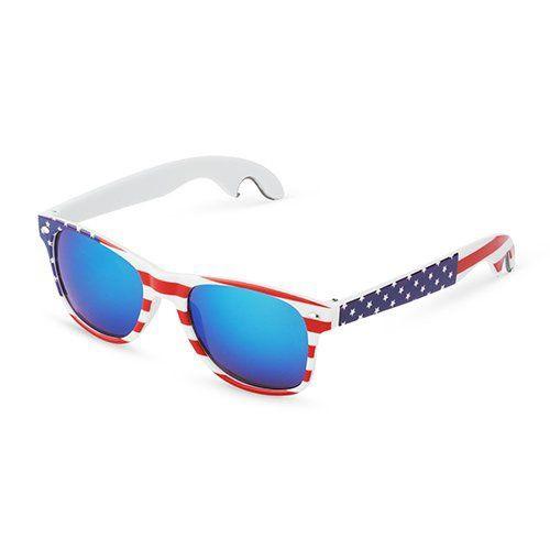 Americana Bottle Opener Sunglasses