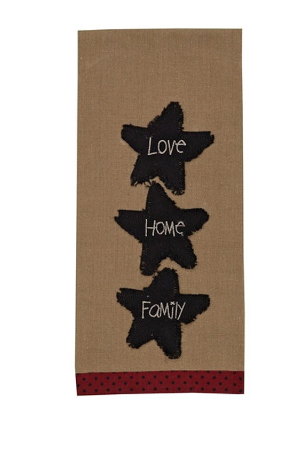 Dish Towel - Home Family Love