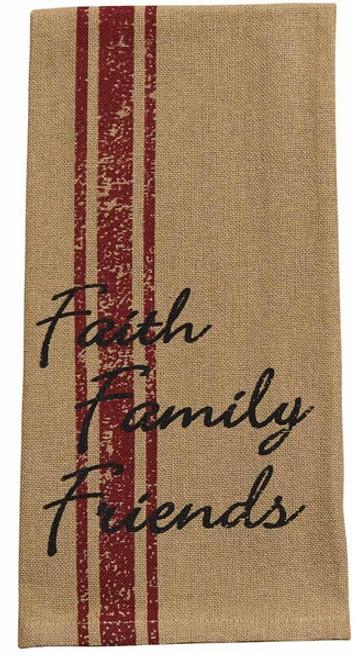 Dish Towel - Faith Family Friends