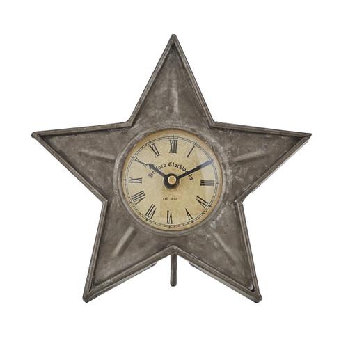 "Star Table Clock 6.5"""