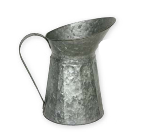 Galvanized Watering Pitcher