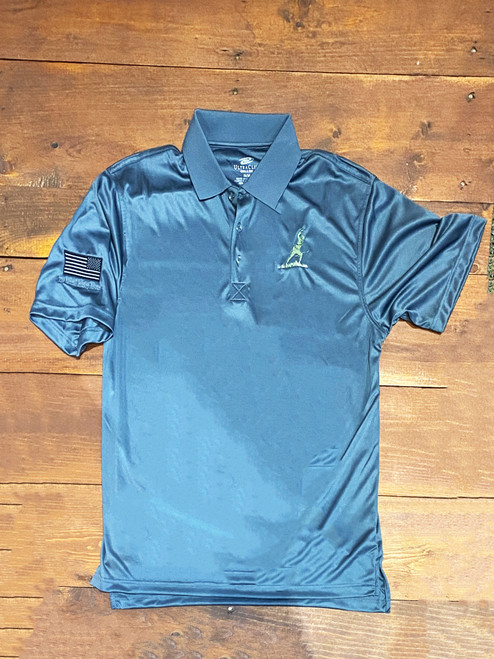 Infantry Man Golf Polo