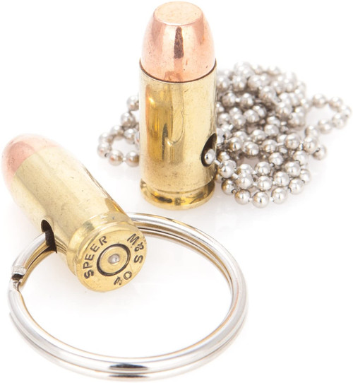 .40 bullet key chain