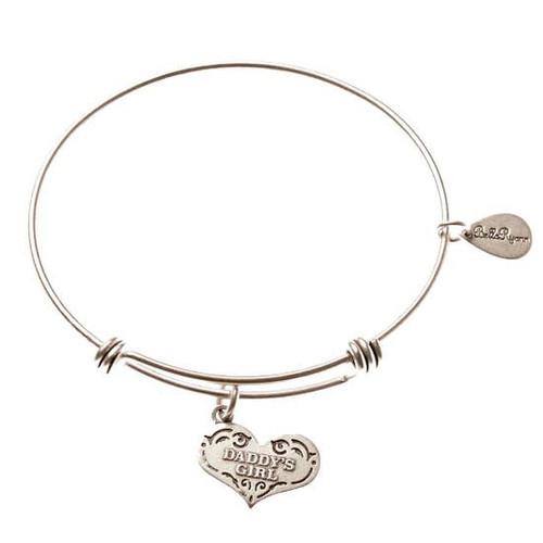 Daddy's Girl Bracelet with Charm