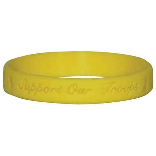 Support Our Troops Silicone Bracelet