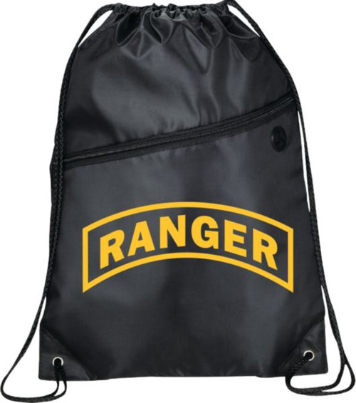 Ranger Tab Drawstring Bag