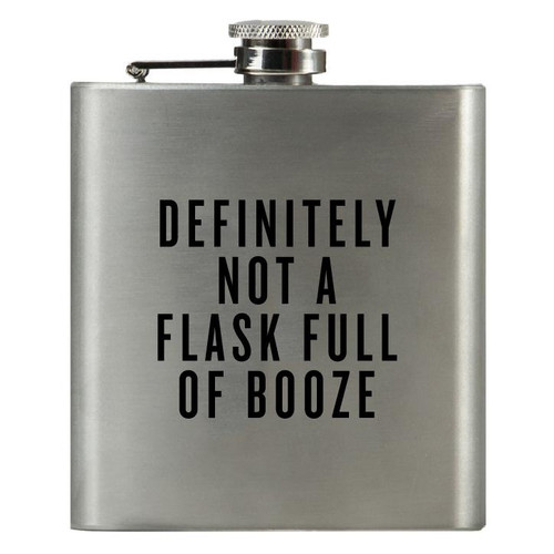 Definitely not a flask full of booze