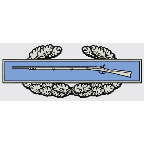 Infantry Badge/Cross Rifles sticker
