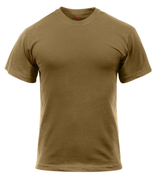 Cotton  Wicking Brown Tee
