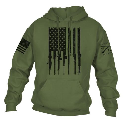 Rifle Flag Hoodie 2.0