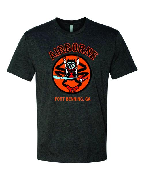 Airborne spider monkey tee