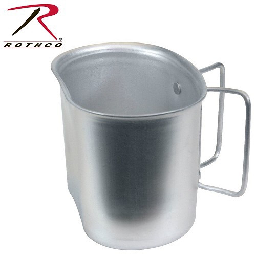 Aluminum canteen cup