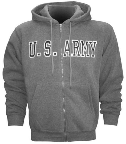 US Army Zip Hoodie
