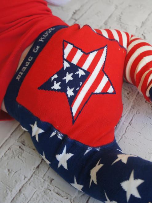 USA Flag  Legging