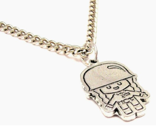 Soldier girl Charm necklace
