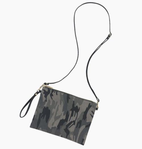Black Camo Hayley purse