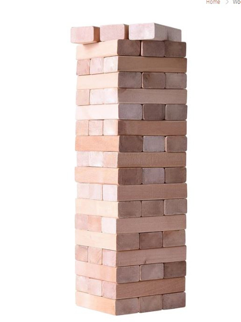 Wooden Tower Game