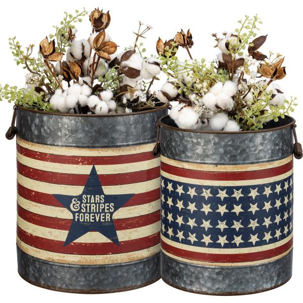 Bucket Set-Stars and Stripes