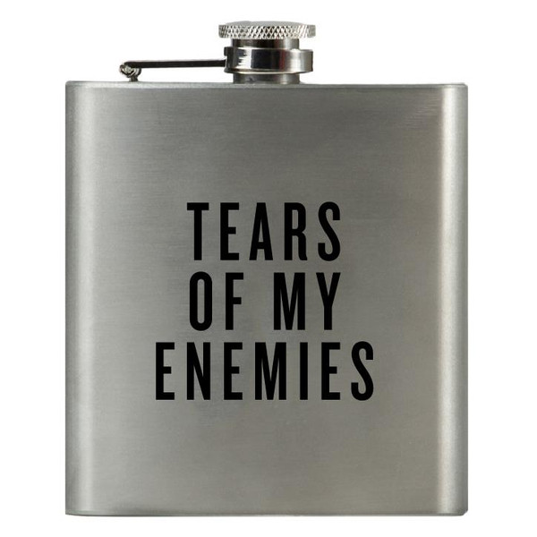 Tears of My Enemies Flask