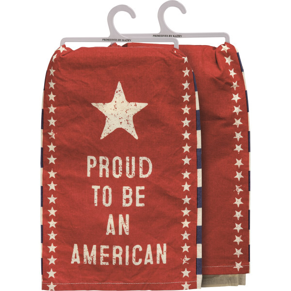 Dish Towel-Proud to Be