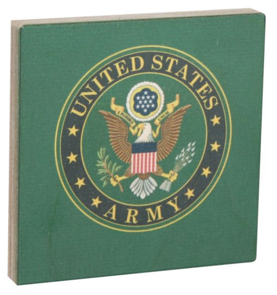Army Wood Sign