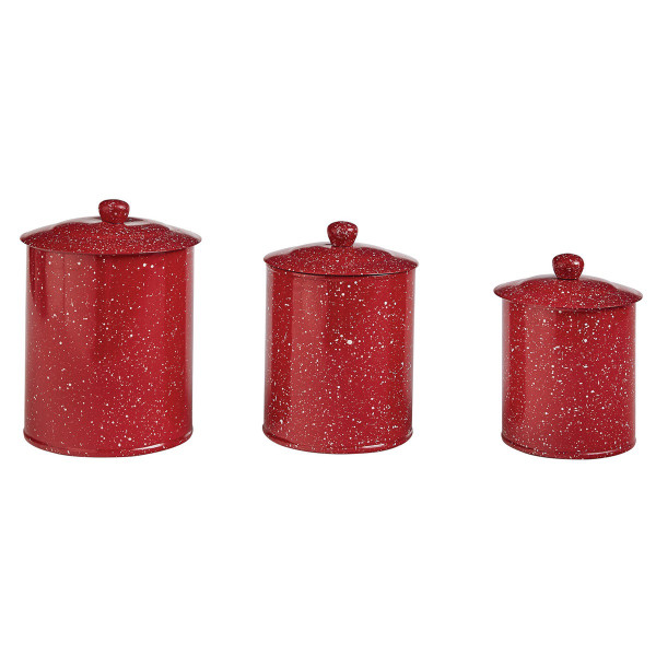 Granite Canisters-Set of 3