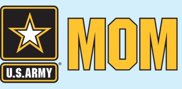 Army star mom/dad sticker