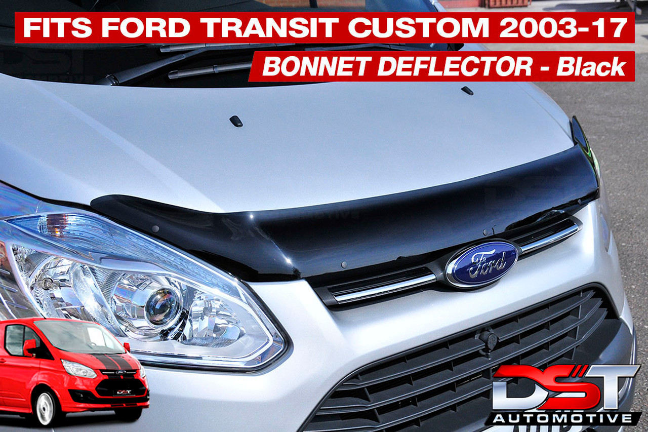2012+ Black Front Bonnet Bra//Protector To Fit Transit Connect