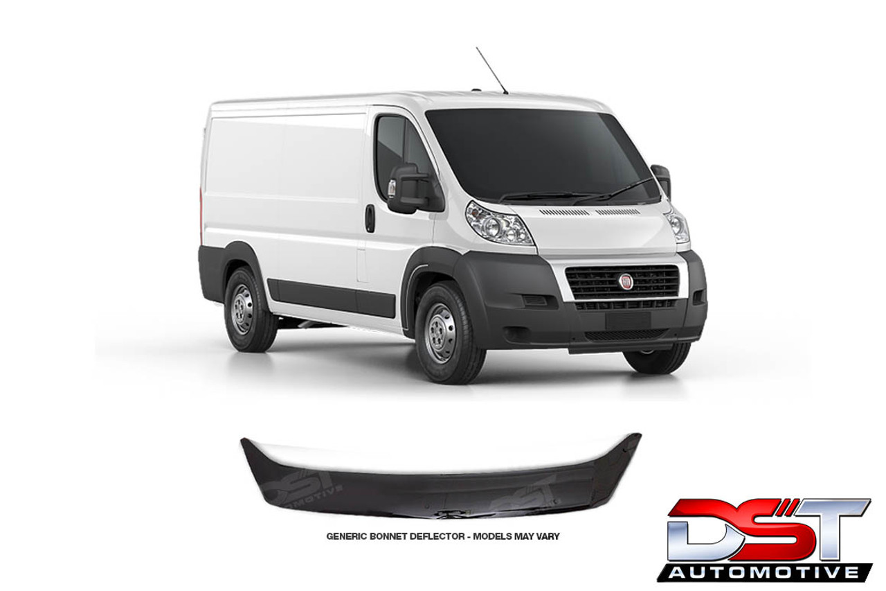 Fiat Ducato Bonnet Deflector Hood Guard And Insect Sheild