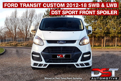 DST SPORT Replacement Front Bumper Ford Transit Custom 2012-2018