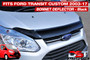 Buy Ford Custom Bonnet Deflector Transit Insect Shield and Hood Protector for your Transit.