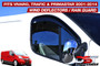 Vivaro Trafic Primastar Wind Deflectors 2001-14 Window Visors