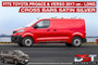 Toyota ProAce and Verso Roof Rack Rails & Cross Bars Set - Silver 2017-on Long L3