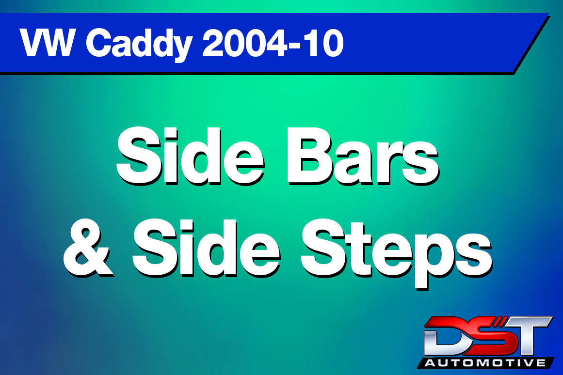 VW Caddy Side Bars & Steps height=