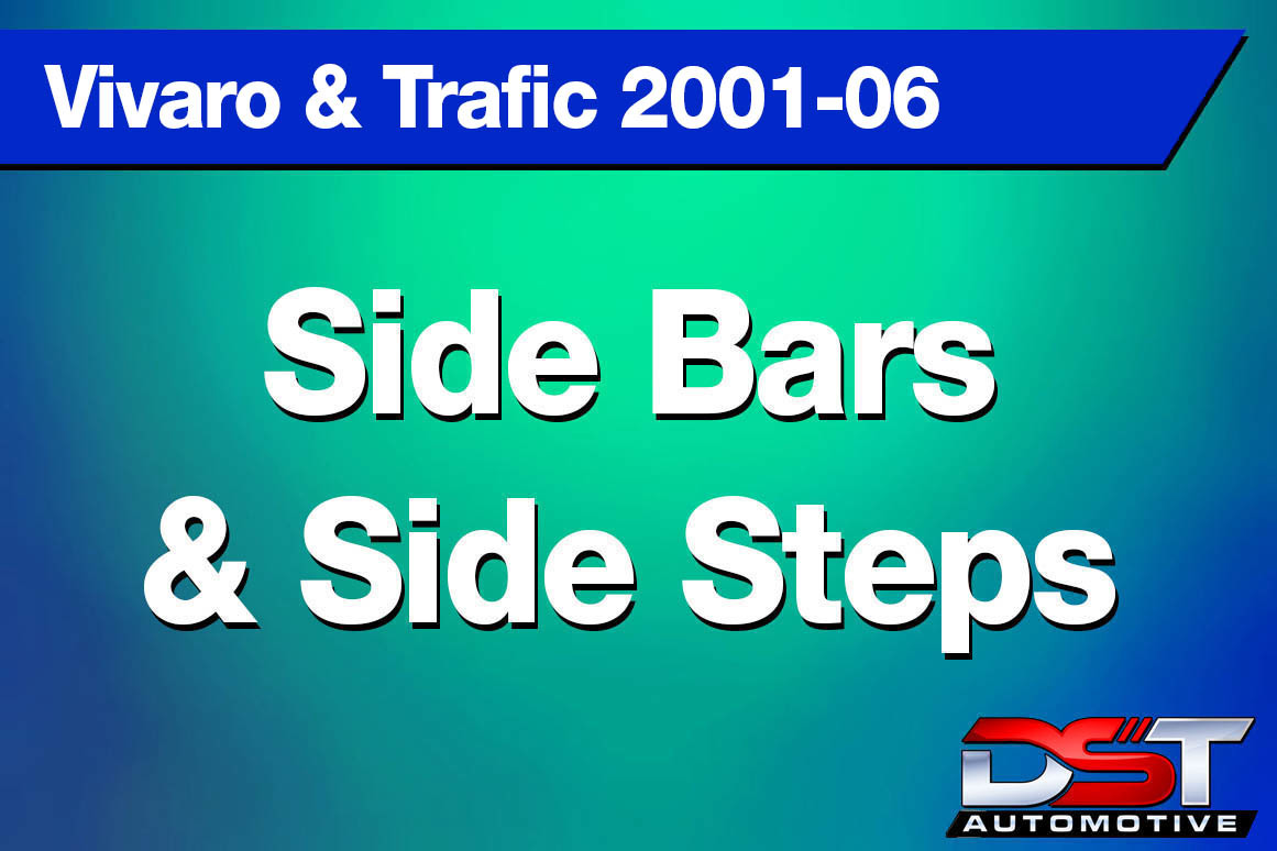 Vivaro Trafic Side Bars & Steps height=
