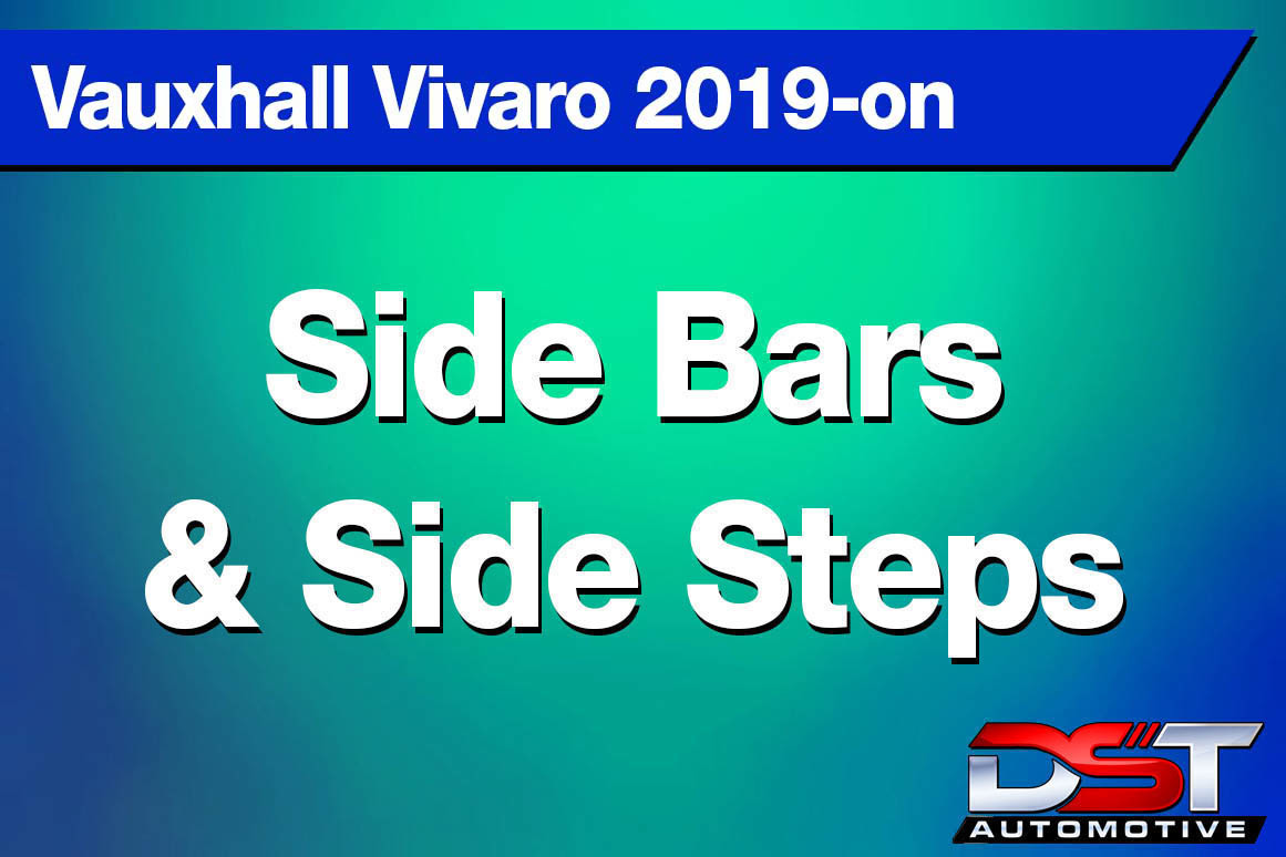 Vauxhall Vivaro Side bars and Side Steps height=