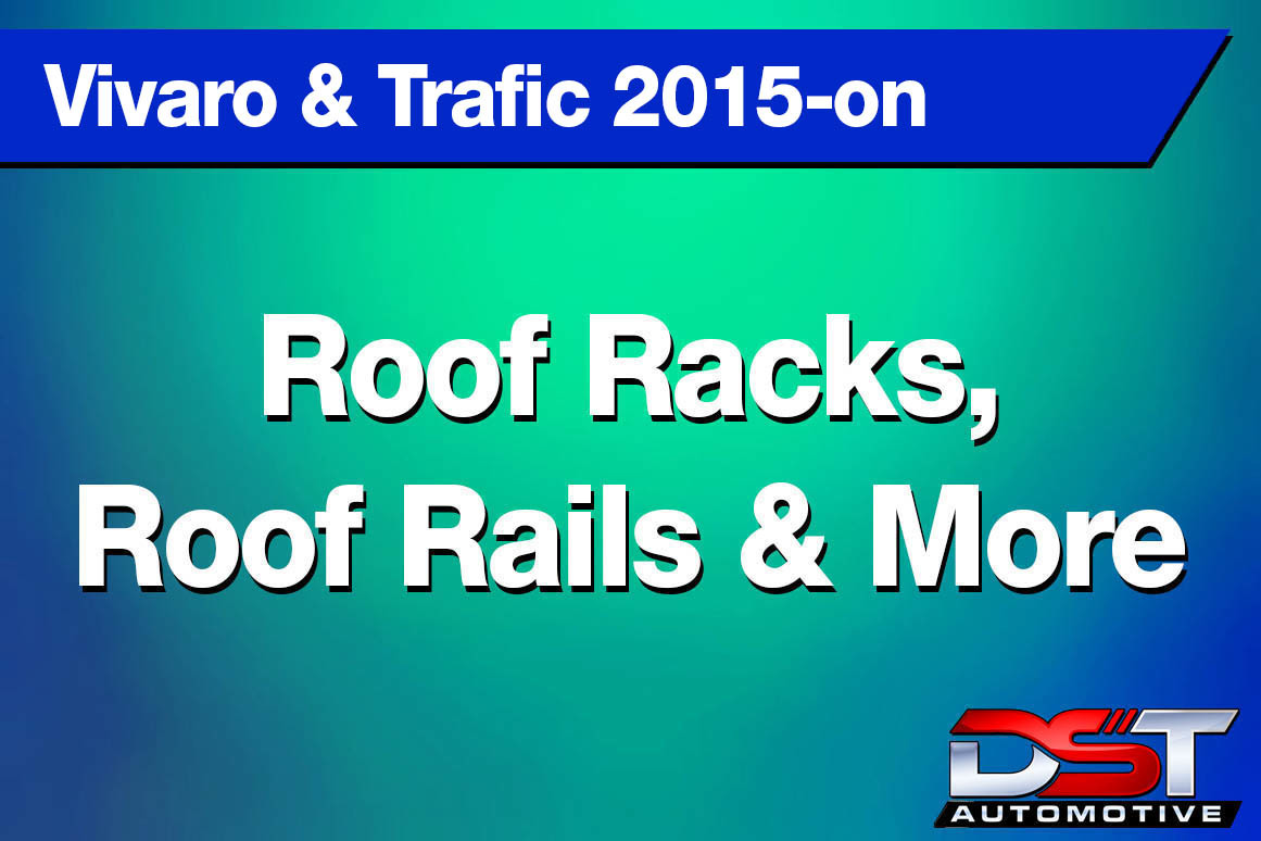 Vivaro Trafic Roof Racks & Rails  height=
