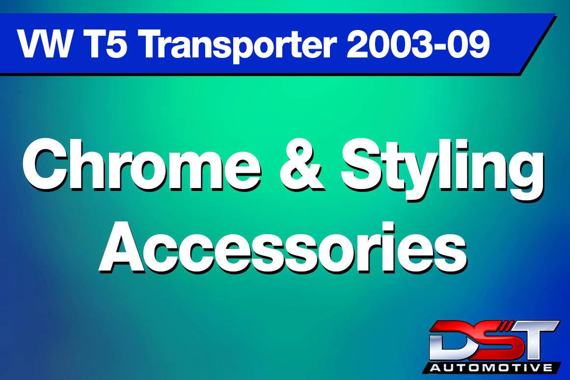 VW T5 Transporter Chrome Styling height=