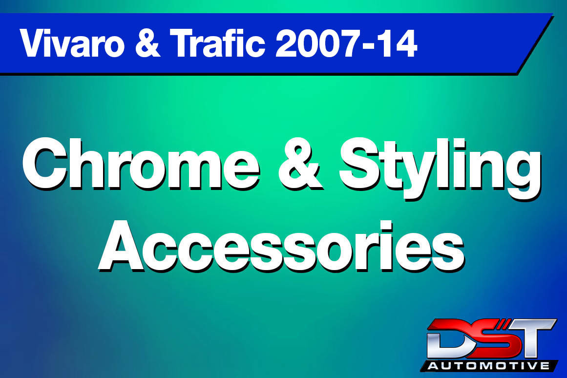 Vivaro and Trafic Chrome Styling Accessories height=