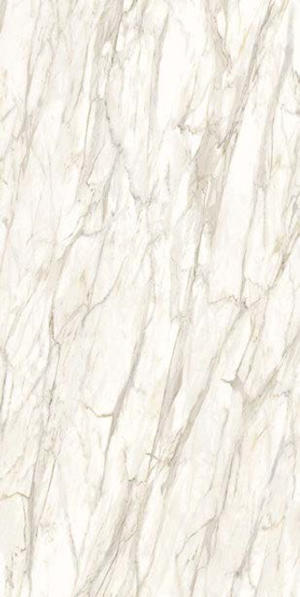 POR1231 Golden White Lux Finish Porcelain Slab
