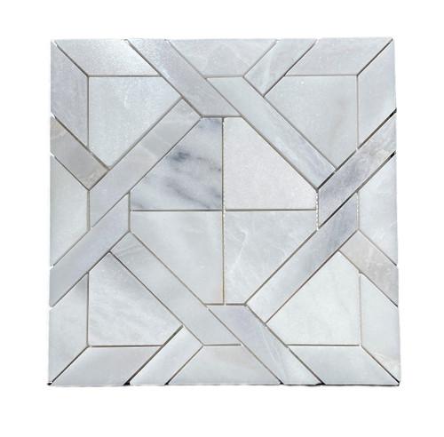 MOS1027 Ice Onyx Polished Marble Matrix