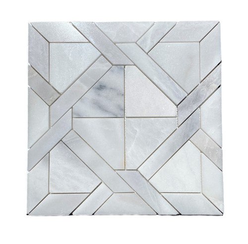 MOS1027 Ice Onyx Polished Marble Matrix